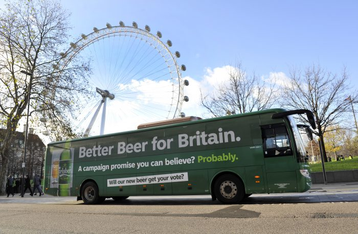 Carlsberg Battle Bus